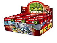 """Конструкторы Ниндзя! Конструктор Loho серии """"Ninja"""", SX 200. Лего Ниндзя 12 шт. в коробке"""