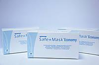Маска медицинская Medicome Safe+mask Economy с ушными петлями (50 шт/уп)