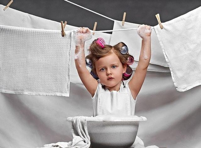 Как отстирать кухонные полотенца от любых пятен?