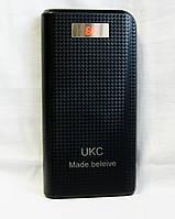 Мобильный power bank UKC 30800mAh + LCD экран+фонарь