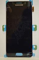 Дисплей Samsung A310 Galaxy A3 с сенсором Black оригинал , GH97-18249B