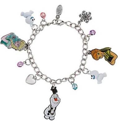 Холодное сердце браслет с шармами эксклюзив от Дисней / Disney Frozen Charm Bracelet