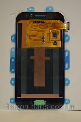 Дисплей Samsung J110 Galaxy J1 с сенсором Голубой Blue оригинал , GH97-17843C, фото 2