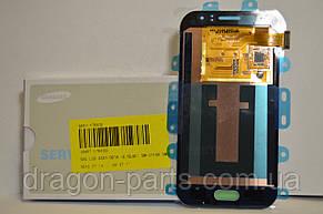Дисплей Samsung J110 Galaxy J1 с сенсором Голубой Blue оригинал , GH97-17843C, фото 3