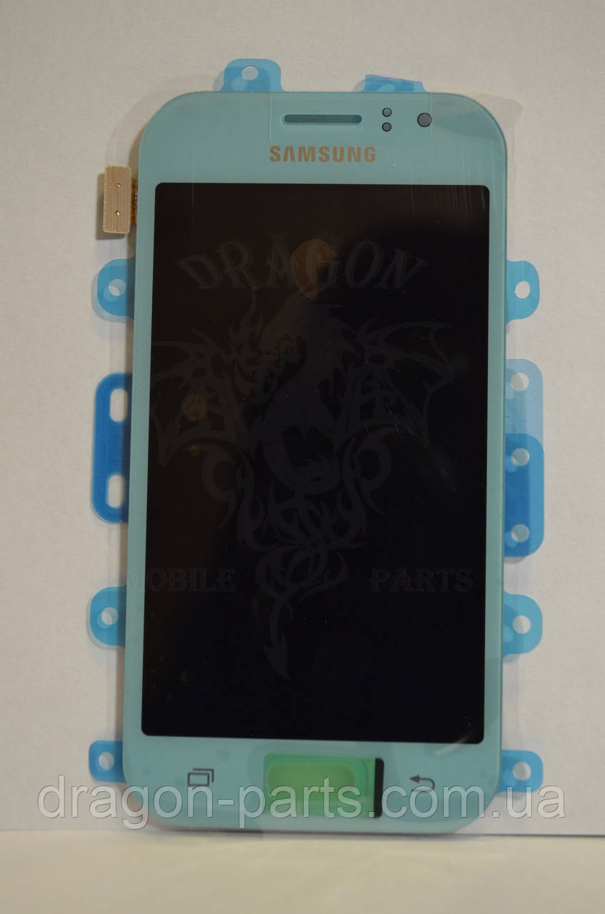 Дисплей Samsung J110 Galaxy J1 с сенсором Голубой Blue оригинал , GH97-17843C