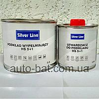 Акриловый грунт-наполнитель Silver Line HS 5:1, белый, 0,4 л + 0,08 л отвердитель