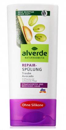 Бальзам Alverde для ломких и повреждённых волос виноград-авокадо 200мл, фото 2