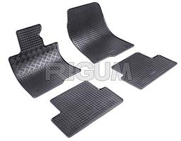 Резиновые коврики VW Amarok с 2011- 4шт. ➤ цвет:черный
