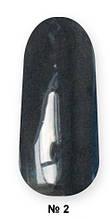 Гель -лак №2 UV Gel-Lacguer SOFIA 8.6 мл США (ярко черный)