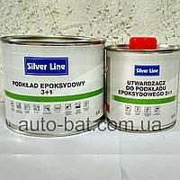 Эпоксидный антикоррозионный грунт Silver Line 3:1, 0,5 л + 0,17 л отвердитель