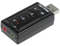 USB sound card звуковая аудио карта