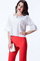 Жіноча вишита сорочка льон