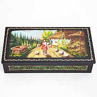 Украинский сувенир. Шкатулка для украшений. Господиня