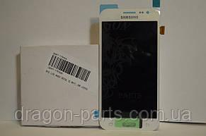 Дисплей Samsung J200 Galaxy J2 с сенсором Белый White оригинал , GH97-17940A, фото 3