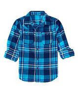 """Рубашка для мальчика Crazy8 """"Яркая клетка"""" р.M(7/8), L(10/12)"""
