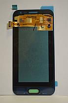 Дисплей Samsung J200 Galaxy J2 с сенсором Золотой Gold оригинал , GH97-17940B, фото 2