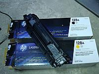 Пустой картридж HP 128A 78A Оригинал желтый и черный