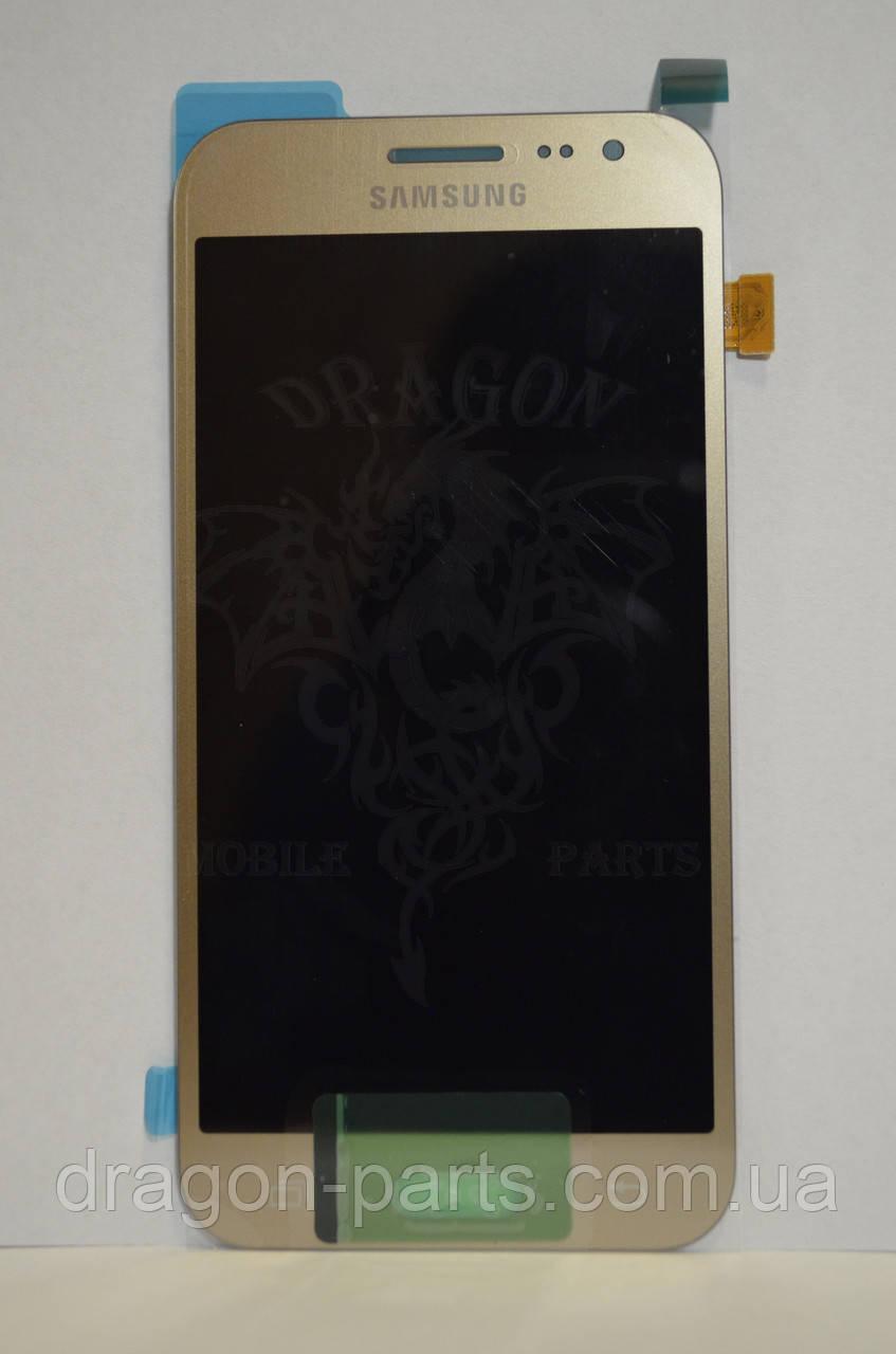 Дисплей Samsung J200 Galaxy J2 с сенсором Золотой Gold оригинал , GH97-17940B