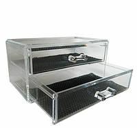 Двухярусный контейнер для косметики и бижутерии YRE SF-1005-3