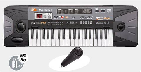 Детский синтезатор, пианино MQ805, USB и MP3