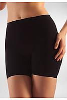 Антицеллюлитные короткие шорты Minishort Farmacell Massage Microfiber Microfiber 102  S/M, Черный