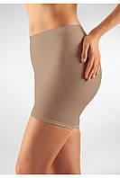 Антицеллюлитные короткие шорты Minishort Farmacell Massage Microfiber Microfiber 102  S/M, Бежевый