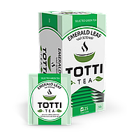 "Чай зеленый TОТТІ Tea ""Изумрудный Лист"", 25 пак."