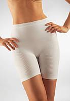 Антицеллюлитные короткие шорты Minishort Farmacell Massage Microfiber Microfiber 102  M/L, Белый