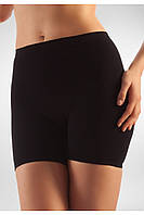 Антицеллюлитные короткие шорты Minishort Farmacell Massage Microfiber Microfiber 102  XXL, Черный