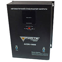 Стабилизатор напряжения релейный FORTE ACDR-10kVA (10 кВт), фото 1