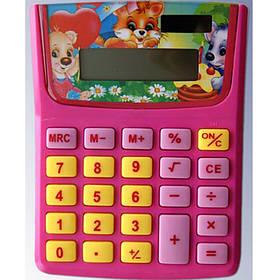 """Калькуляторы карманные J_Otten 6407/6408 микс 8 разряд детский """"Феечки""""Лапушки"""""""