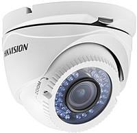 Turbo HD видеокамера Hikvision DS-2CE56C2T-VFIR купольная  видеокамера HD TVI 1.3Мп, ИК-подсветка до 40 м