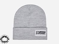 Зимняя шапка Urban Planet Big Classic Grey