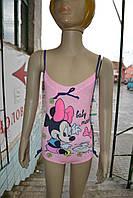 """Купальник Disney """"Minnie Mouse"""" слитный 6-23 месяцей розовый"""