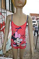 """Купальник Disney """"Minnie Mouse"""" слитный 6-23 месяцей красный"""