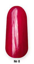 Гель -лак №8 UV Gel-Lacguer SOFIA 8.6 мл США (насыщенный красный )