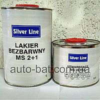 Лак акриловый Silver Line MS Basic 2:1, 1 л + 0,5 л отвердитель