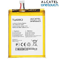 Батарея (АКБ, аккумулятор) TLP020C2 для Alcatel One Touch 6040 Idol X (3.8V 2000 mah), оригинальный