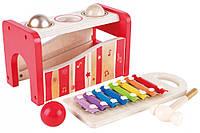 Музыкальная игрушка  ксилофон+стучалка, фото 1