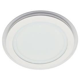 Светодиодный cветильник SL457 18W 4000K круглый белый( потолочный, сатурн) Код.57383