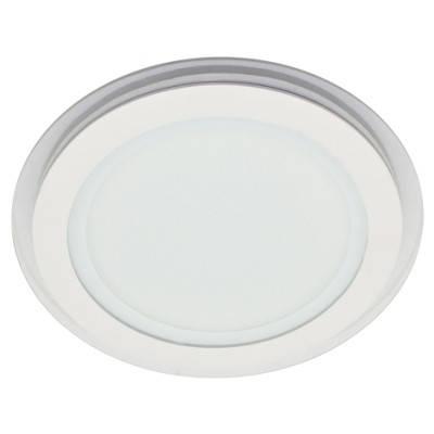 Потолочный светодиодный cветильник SL457 18W 4000K круглый белый сатурн Код.57383, фото 2