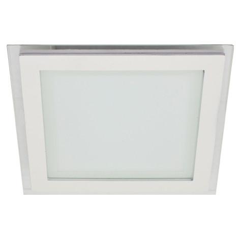 Светодиодный cветильник Feron AL2111 20W 5000K квадратный белый( потолочный, сатурн) Код.57384