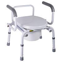 Кресло-туалет с откидными подлокотниками (Nova, A8900AD)