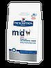 Hills PD Feline M/D для кошек с сахарным диабетом и/или избыточным весом 1,5 кг