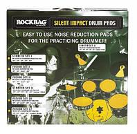 Набор тренировочных пэдов для барабанов ROCKBAG