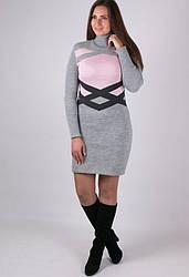 Женское вязаное платье - Екатерина
