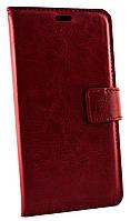 Чехол книжка Lenovo S60 с лямкой красный