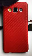 """Силиконовый чехол """"Карбон"""" для Samsung А3 (2015)"""