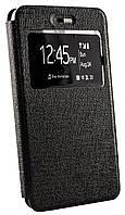 Чехол книжка для Lenovo S60 Ulike (с окошком) черный