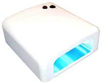 УФ лампа для полимеризации геля и гель-лака, гель лампа, 36 Вт YRE 818 /0-8, фото 1
